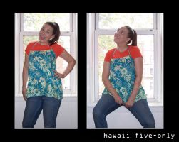 Hawaii Five-ORLY dress by PinkyMcCoversong