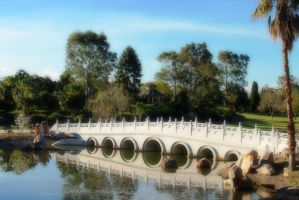 Bridge over Still Waters by Staffaholic