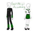 East Akiiji Uniform by RougeChocobo