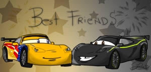 Jeff and Lewis: Best friends by PinkyPhantom