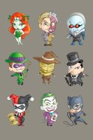 Rogues' Gallery, Colored by xryss