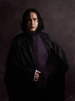 Snape by thewalkingman