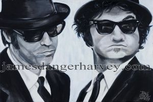 Blues Brothers by jamesdangerharvey