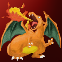 Charizard by Arkyz