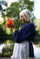 Sophie and Calcifer by The-Cosplay-Scion