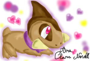 Axew Sniny lovely by ChibiWendy