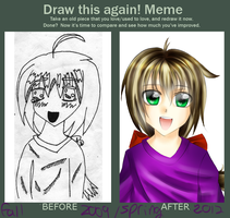 Before and after meme! by liferaven