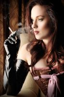 Another smoking glove pic by GerryPelser