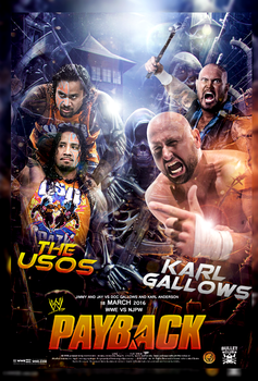 WWE Vs NJPW 2016 Poster by workoutf