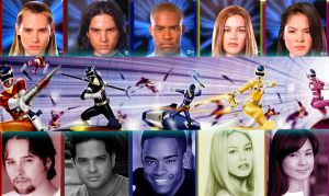 Power Rangers In Space by scottasl