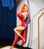 Disney - Jessica Rabbit by Falchion36