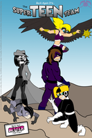 FOP: Super Teen Team -cover poster- by KPenDragon