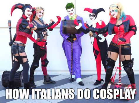 HOW ITALIANS DO COSPLAY by arydiabolika