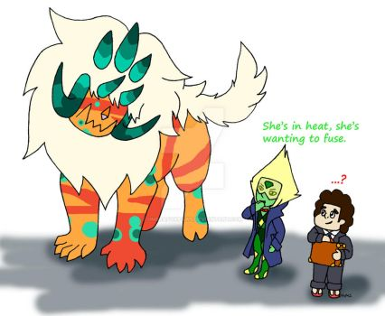 Steven's Puppy: Fantastic Gem Beasts by UmbraFoxPaws