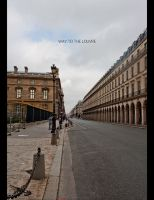 way to louvre by chem-graph