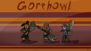 Chibi Owners Of Gorehowl by k3m35