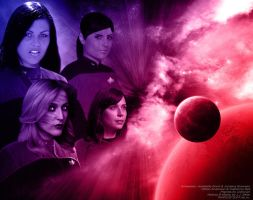 Star Trek FF Girls - Wallpaper by Joran-Belar