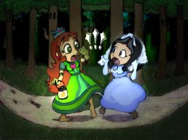 COM: Bump in Demetra Forest by CyberB