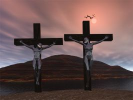 The Crucifixion of Humankind by Strange-Trip-Studios