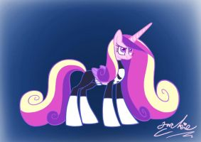 Cadance as the Punisher by LimeLover