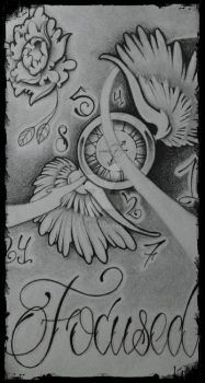 tattoo flash by GeertY