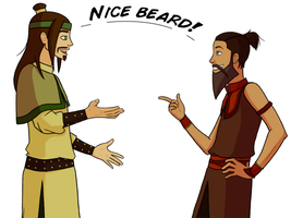 I'll bring the beards by jastice
