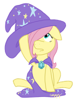 The Great and Powerful Fillyshy by FrogAndCog
