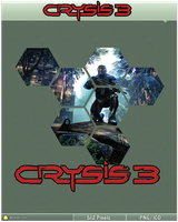 Crysis 3 Icon Hexagon Edition by Ni8crawler