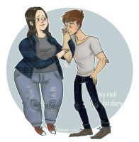 Mad Fat Diary by khaedin