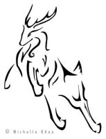 Tattoo Design: Stag by thegadgetfish