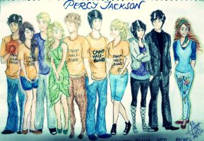Percy Jackson by seanfarislover