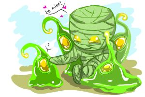 Amumu and Zac passive - be mine? by sharrm