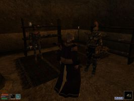 TES III Morrowind - Tension`s up at Alusaron`s by KuznyaDragonOfBaa