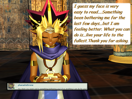 Question 1216 ~Troubled Pharaoh~ by AskMMDYugi
