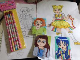 Parcel from AnimeColourful! :D by YuniNaoki