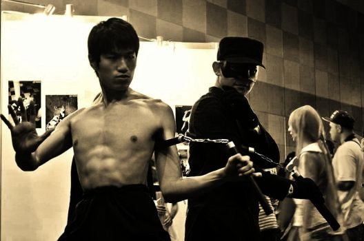 The Legend and his Persona: Bruce Lee and Kato by ThePracticalFist