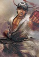 Ryu - Street Fighter Fanart by tgomes9