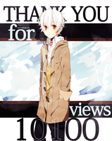 Thank You For 10100 VIEWS by yui-22