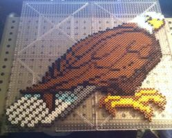 Eagle Perler by Ace8bit