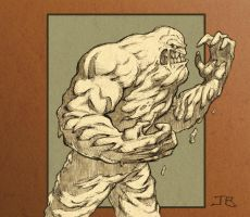 Clayface by BodyTriangle