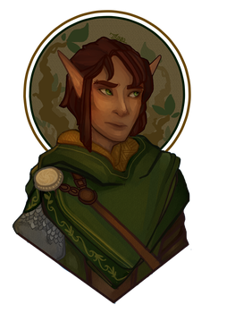 Nym - Wood Elf Commission by 1Valaquenta
