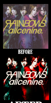 Alice Nine - Before - After by HystericalParoxysm09