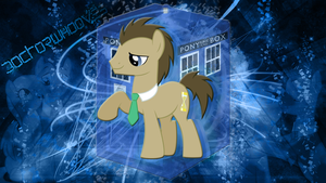 Doc whooves background.. redone :D by JoshiePup