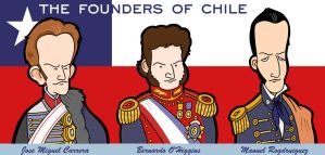 Chile's founding fathers by jjmccullough