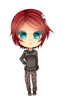 -- Chibi Commission for L3xil3in -- by Kurama-chan