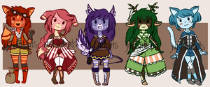Anthro RPG Auction: Closed~!!!!!! by JustAdopts
