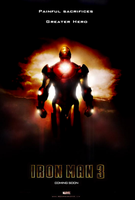 Iron Man 3 Poster by Harmoniak