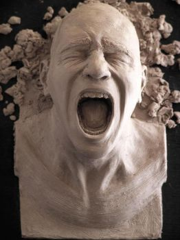 Sculpture is a Pain by folkeby
