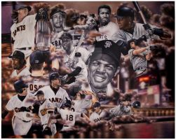 The San Francisco Giants by LP2525Holmes