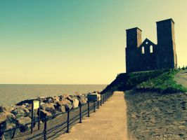 Reculver towers. by ellbamber